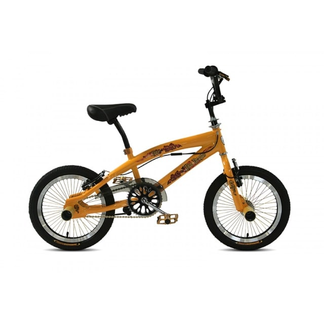 Troy Freestyle BMX 16 inch Yellow