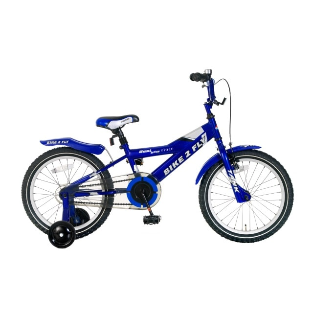Popal Bike 2 Fly 18 inch Blauw
