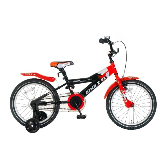 Popal Bike 2 Fly 18 inch Rood