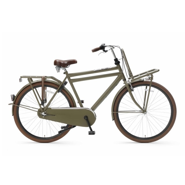 Popal Daily Dutch 3 Versnellingen 28 inch Army Green