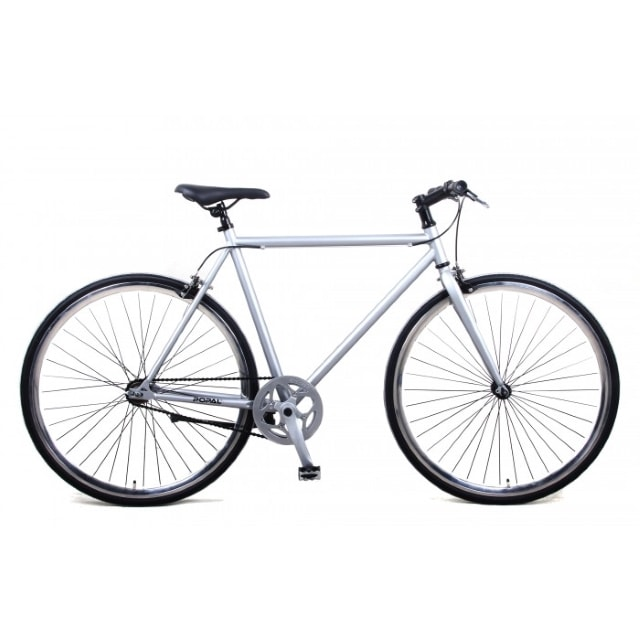 Popal Fixed Gear 28 inch Zilver
