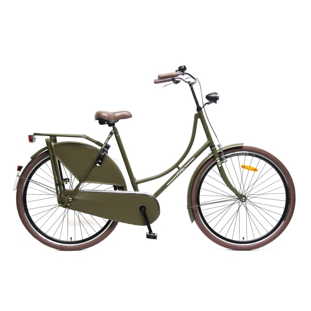 Popal Omafiets 28 inch Army Green