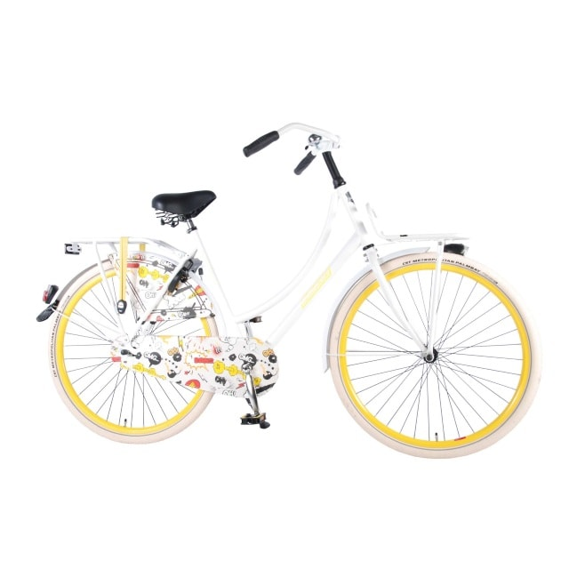 Salutoni Urban Transportfiets Cartoon 28 inch