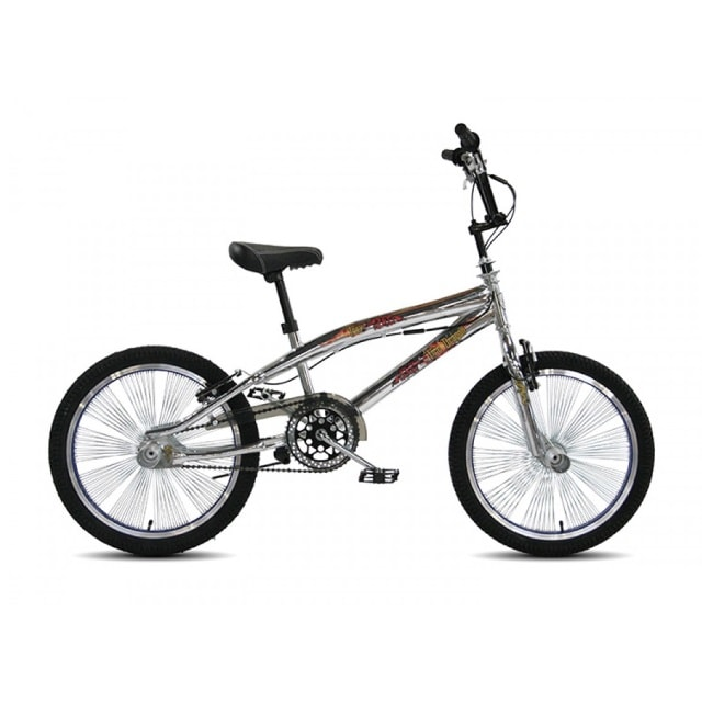 Troy Freestyle BMX 20 inch Chrome