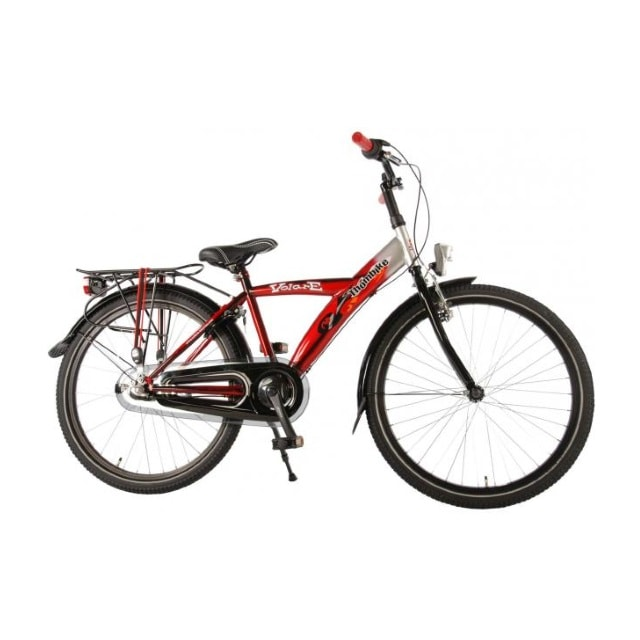 Volare Thombike 3 Versnellingen 24 inch Rood